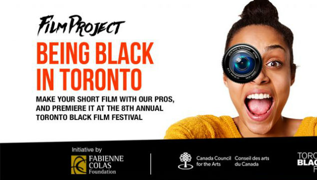 "CALL FOR APPLICATIONS for the ""BEING BLACK IN TORONTO"" program"